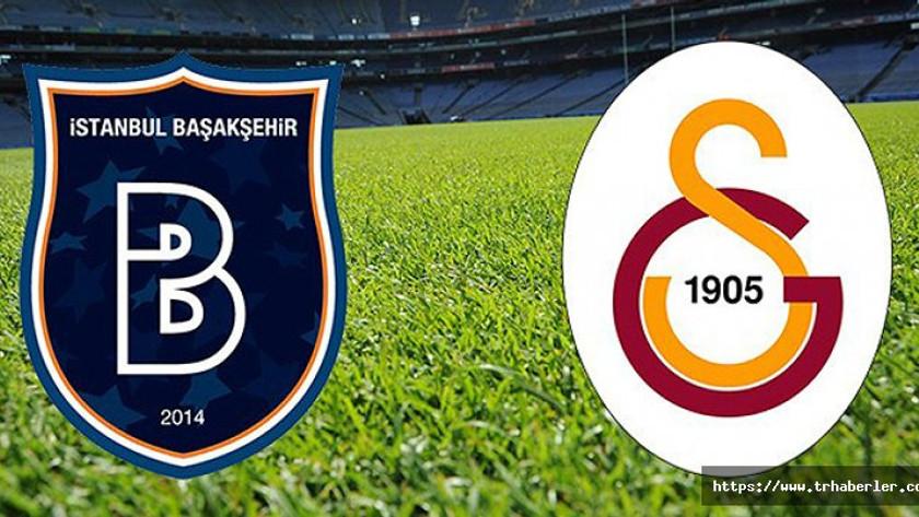 İstanbul Başakşehir İBB – GS Galatasaray maçı şifresiz lig ...