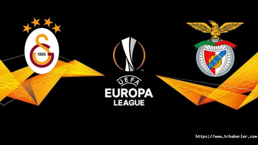 Galatasaray-Benfica UEFA Avrupa Ligi maçı (CANLI)