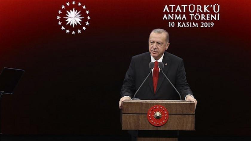 Cumhurbaşkanı Erdoğan anma töreninde konuşma yaptı