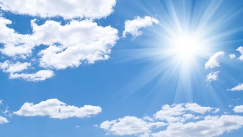 Yurt genelinde hava durumu! 5 Eylül yurt genelinde hava durumu!