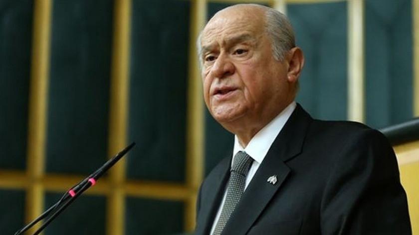 MHP lideri Bahçeli'de Ayasofya'da