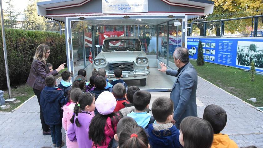 Yerli otomobil Devrim'i, 20 ayda 255 bin kişi ziyaret etti
