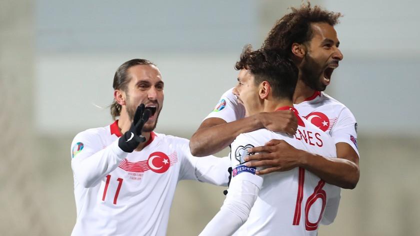 Andorra Türkiye Maçından unutulmaz kareler