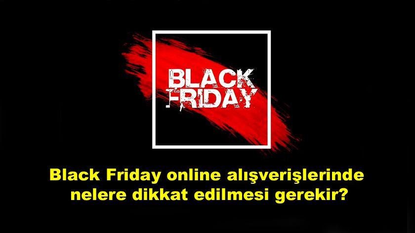 Black Friday online alışverişlerinde nelere dikkat edilmesi gerekir? - Sayfa 1