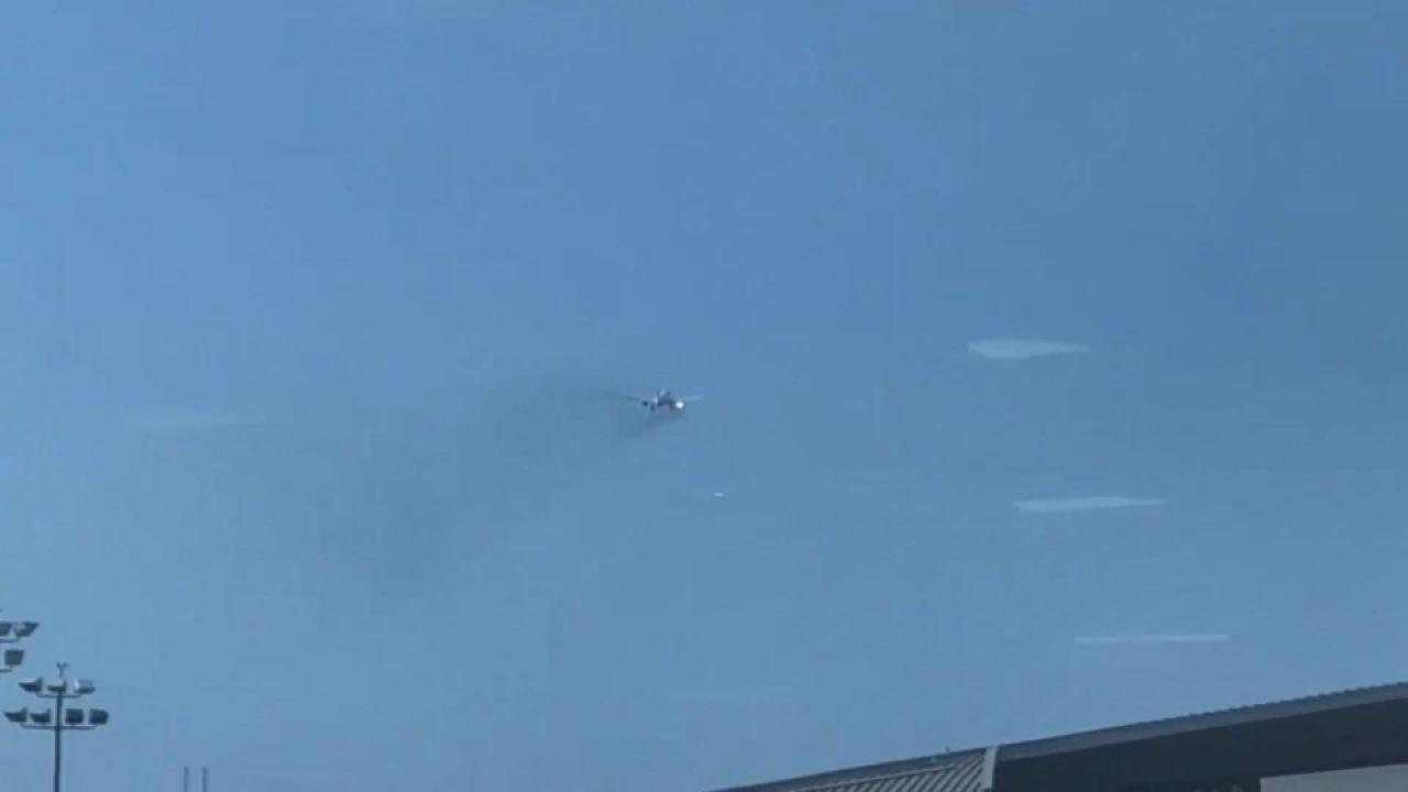347 yolcu taşıyan uçak havada alev aldı - Sayfa 2