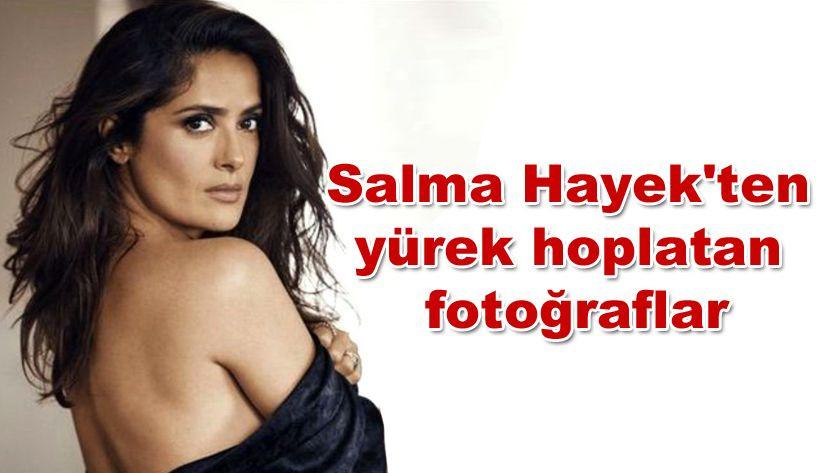 Salma Hayek'ten yürek hoplatan fotoğraflar - Sayfa 1