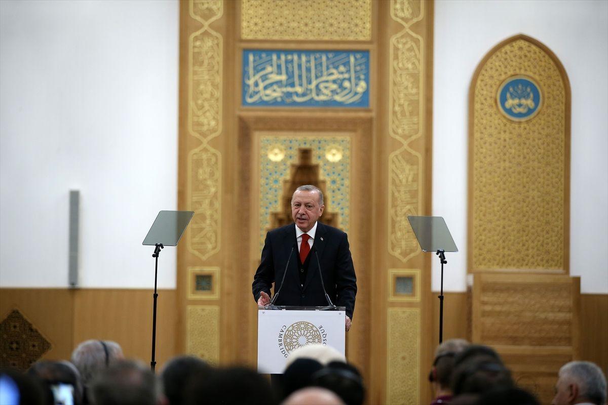 Cumhurbaşkanı Erdoğan'dan Cambridge Camisi'inde Kur'an Kerim tilaveti - Sayfa 3