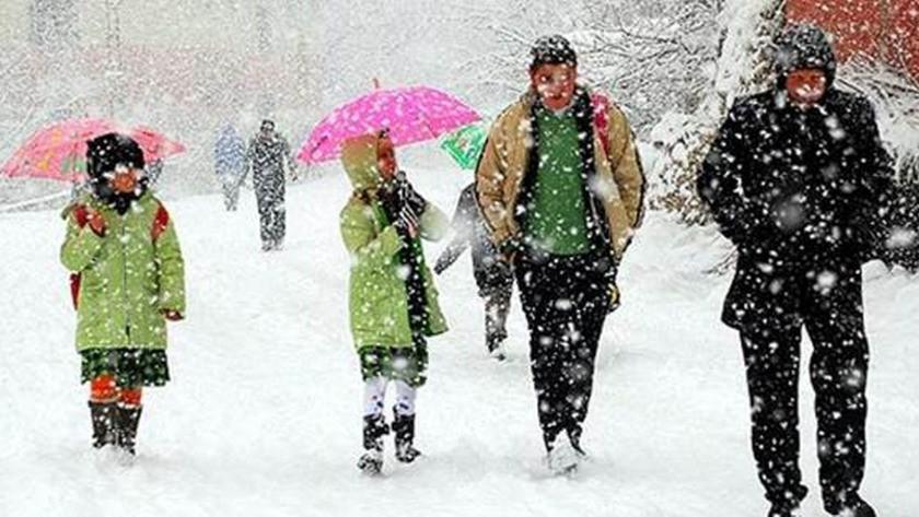 Ankara valiliği son dakika kar tatili var mı? Okullar tatil mi?