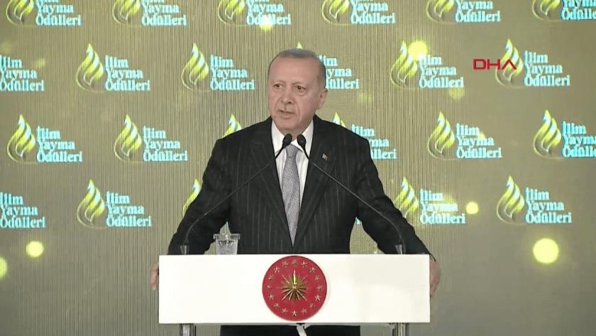Erdoğan İlim Yayma Töreninde konuştu