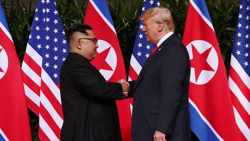 Trump'tan şok açıklama: Kuzey Kore'nin Noel hediyesi...