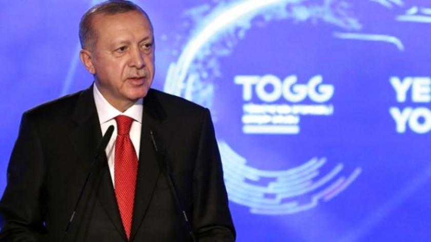 Erdoğan'dan yerli otomobilin tanıtım töreninde önemli açıklamalar