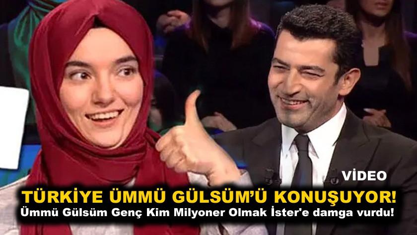 Ümmü Gülsüm Genç Kim Milyoner Olmak İster'e damga vurdu! Türkiye onu konuşuyor video izle