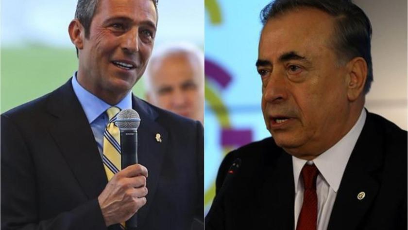 Galatasaray Başkanı Mustafa Cengiz'den Fenerbahçe Başkanı Ali Koç'a cevap