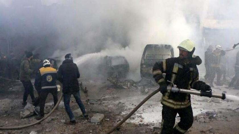İdlib'te ölü sayısı 19'a yükseldi
