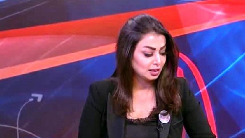 Iraklı spiker,Üzgün görüntüm için özür dilerim!