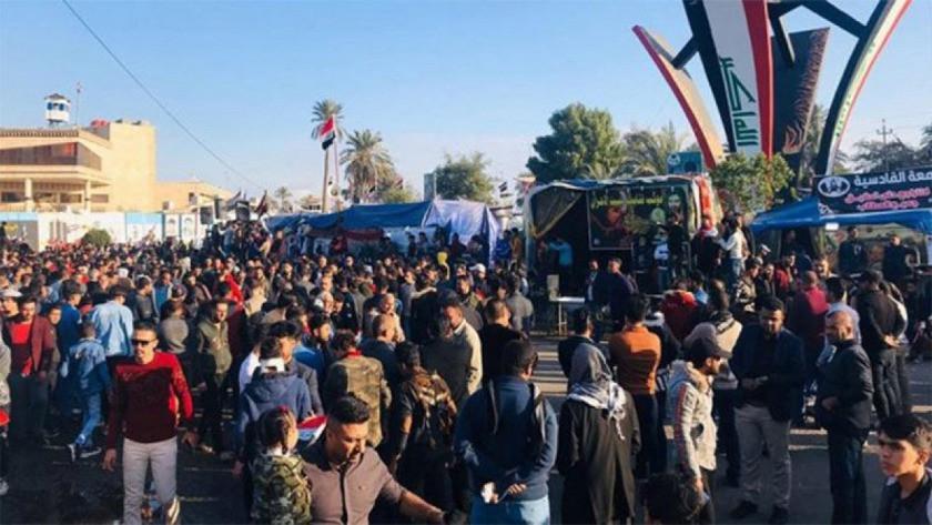 Irak'ta protestolara müdahale: 1 ölü, 7 yaralı