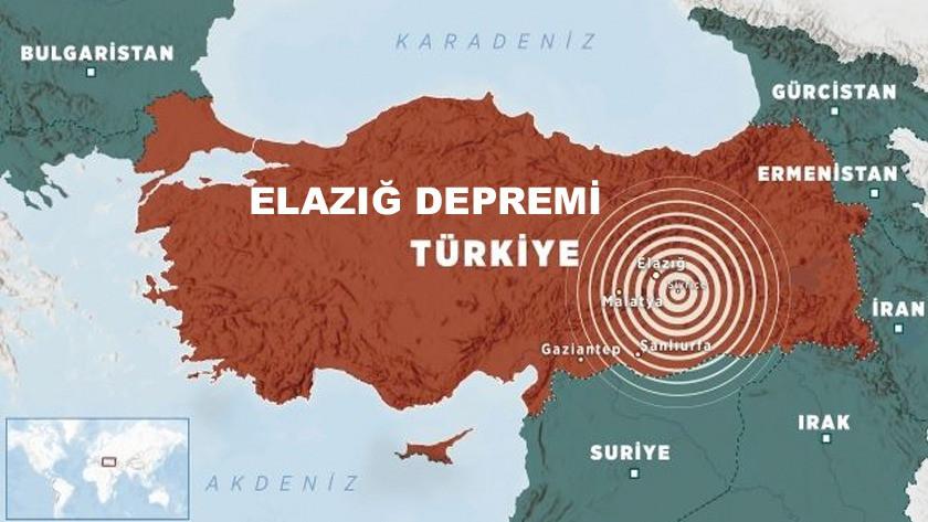 Elazığ'da 6,8 büyüklüğünde depremde 20 ölü 1015 yaralı!