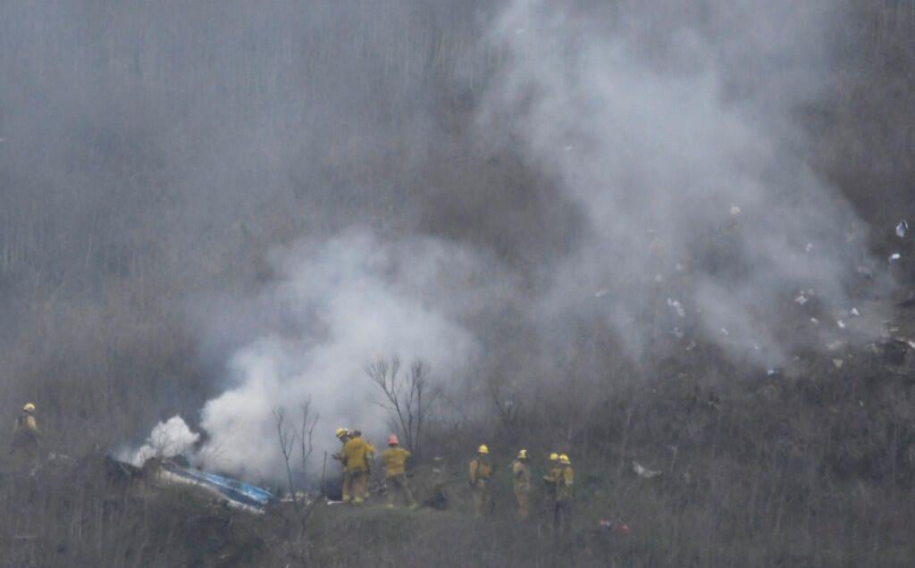 Kobe Bryant'ın helikopter kazasından görüntüler - Sayfa 1