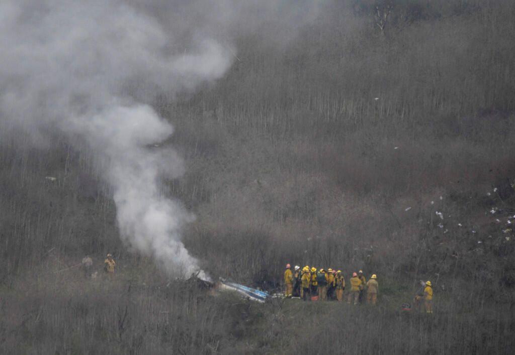 Kobe Bryant'ın helikopter kazasından görüntüler - Sayfa 2