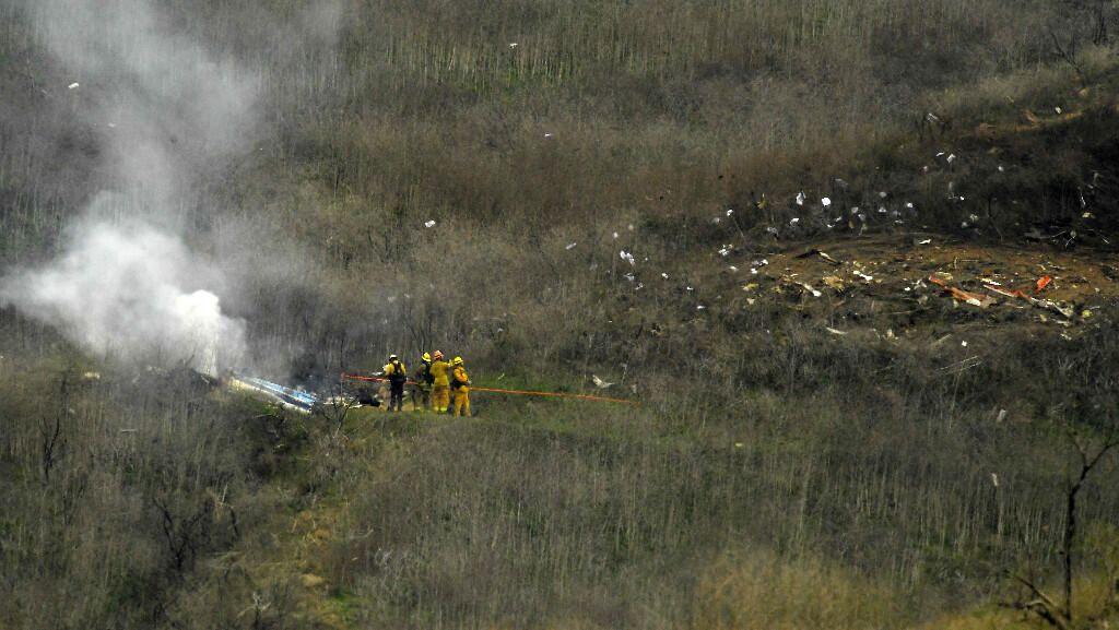 Kobe Bryant'ın helikopter kazasından görüntüler - Sayfa 3