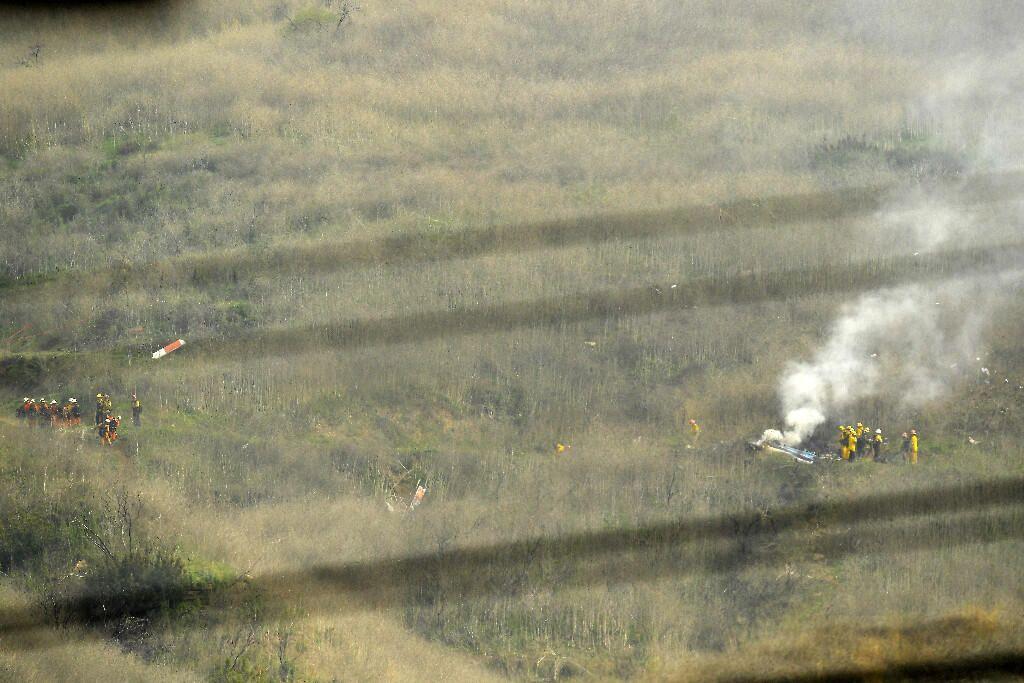 Kobe Bryant'ın helikopter kazasından görüntüler - Sayfa 4