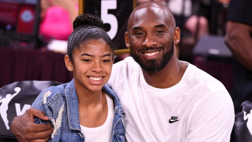 NBA efsanesi ve geleceğin yıldızı... Kobe Bryant ve kızı Gigi