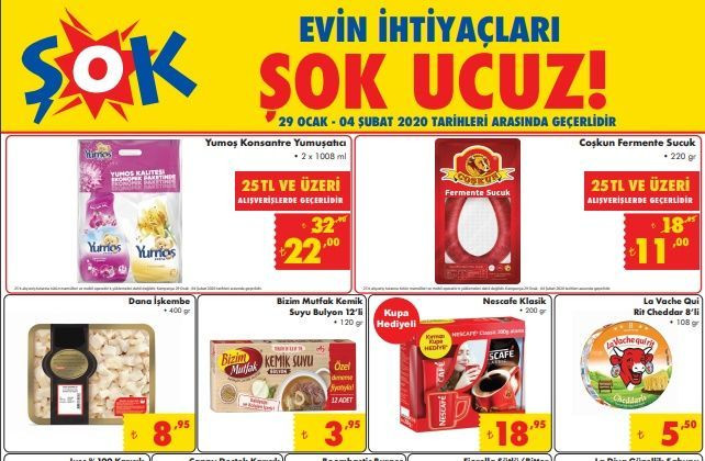 29 Ocak Şok Market aktüel kataloğu sürprizleri! - Sayfa 2