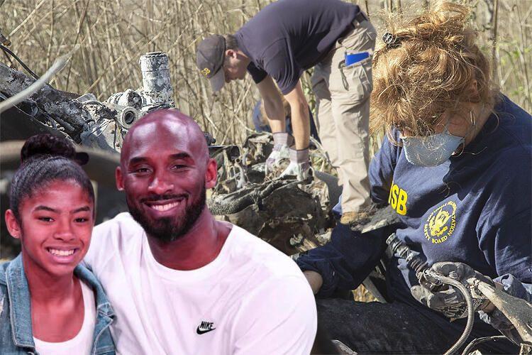 İşte Kobe Bryant ve kızının öldüğü helikopter kazasının enkaz görüntüleri - Sayfa 1