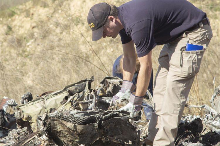 İşte Kobe Bryant ve kızının öldüğü helikopter kazasının enkaz görüntüleri - Sayfa 3