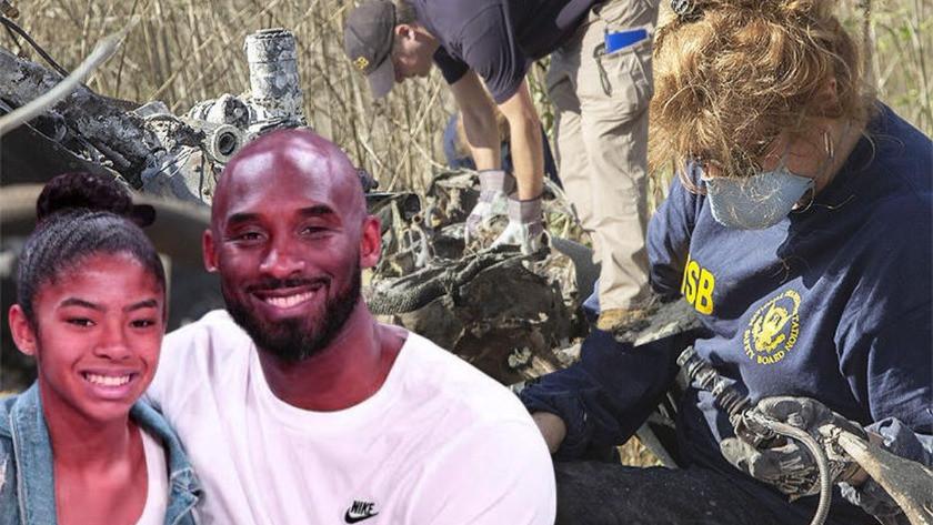 İşte Kobe Bryant ve kızının öldüğü helikopter kazasının enkaz görüntüleri