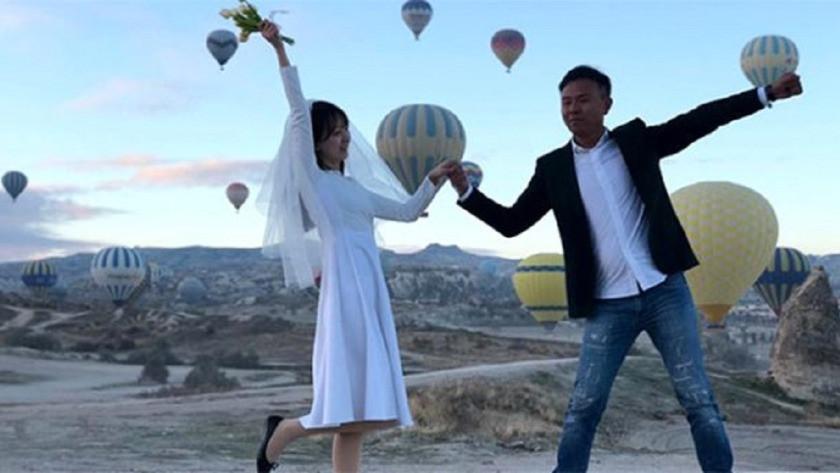 Kapadokya'yı ziyaret eden Çinli turist sayısını corona virüsü etkiled