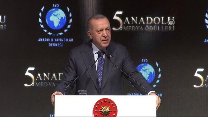 Erdoğan, Elazığ depreminde atılan mesajlara sert çıktı !