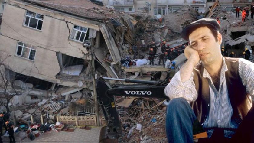 Kemal Sunal'ın doğduğu ev de 6.8 'lik depremde yıkıldı