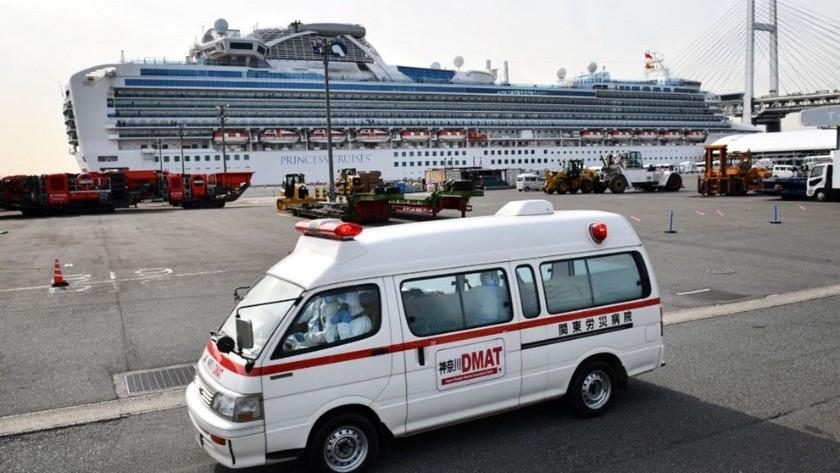 Yolcu gemisinde 41 kişide daha corona virüsü tespit edildi !