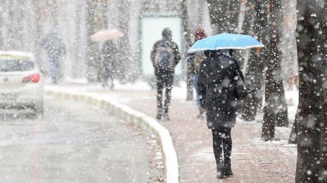 13 Şubat Meteoroloji'den 14 il için yoğun ve kuvvetli kar yağışı uyarısı - Sayfa 1