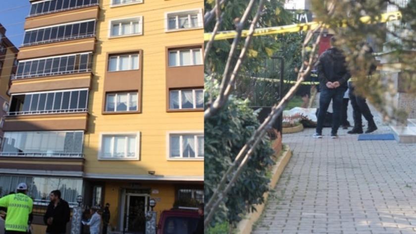 Korkunç ölüm ! 7. kattan düşüp öldü !