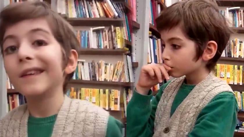Filozof Çocuk Atakan'ın felsefe ilgili yorum videosu paylaşım rekoru kırdı! video izle