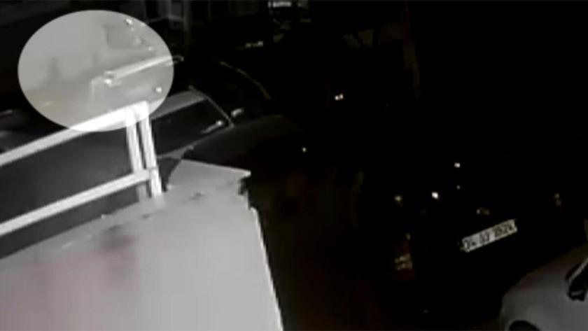 Şişli'de bebeğin çöp konteynerine bırakılma anı kamerada!