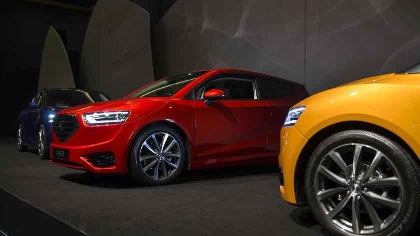KKTC ilk yerli otomobili Günsel'i tanıttı