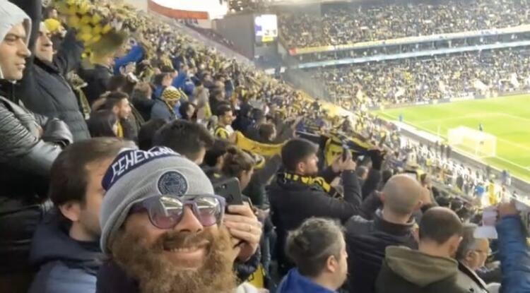 Fenerbahçe'nin efsane futbolcusu derbiyi böyle izledi - Sayfa 2