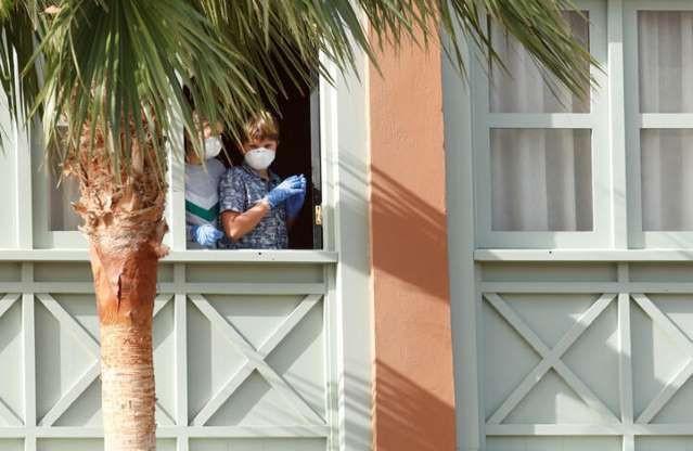 Karantinaya alınan 1000 kişilik otel ilk kez görüntülendi - Sayfa 4