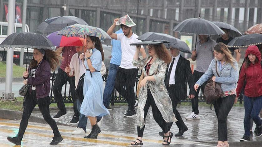 Meteoroloji'den kuvvetli yağış uyarısı! Hafta sonu hava nasıl olacak?