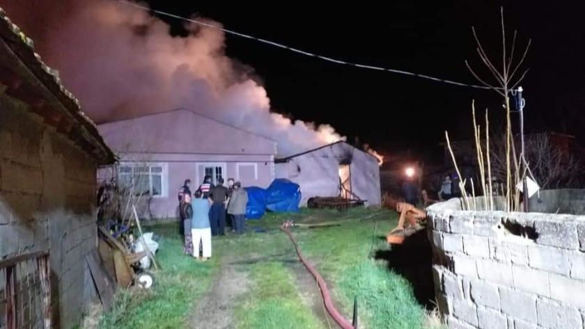 Silivri'deki yangında KOAH hastası hayatını kaybetti