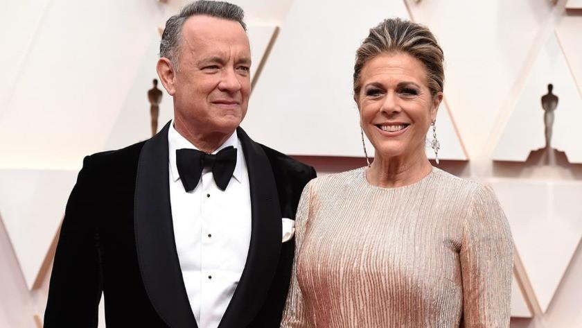 Ünlü oyuncu Tom Hanks ve eşi de koronavirüse yakalandı