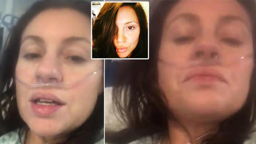 Corona virüsünün yüzü olan kadından haber var!