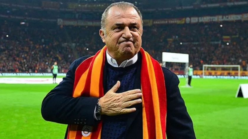 Galatasaray taraftarından Fatih Terim'e destek !