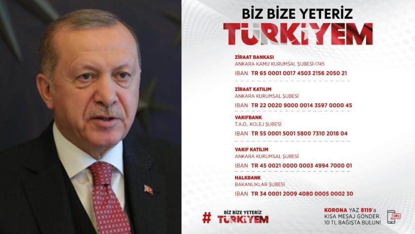 Erdoğan'ın bağışladığı miktar belli oldu!