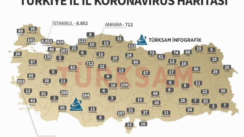 Isparta'da koronavirüs vaka sayısının fazla olmasının nedeni belli oldu