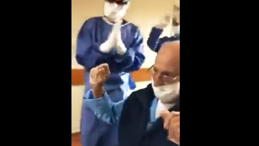 Türkiye'ye umut olsun! 95 yaşında Koronavirüs hastası böyle çıktı