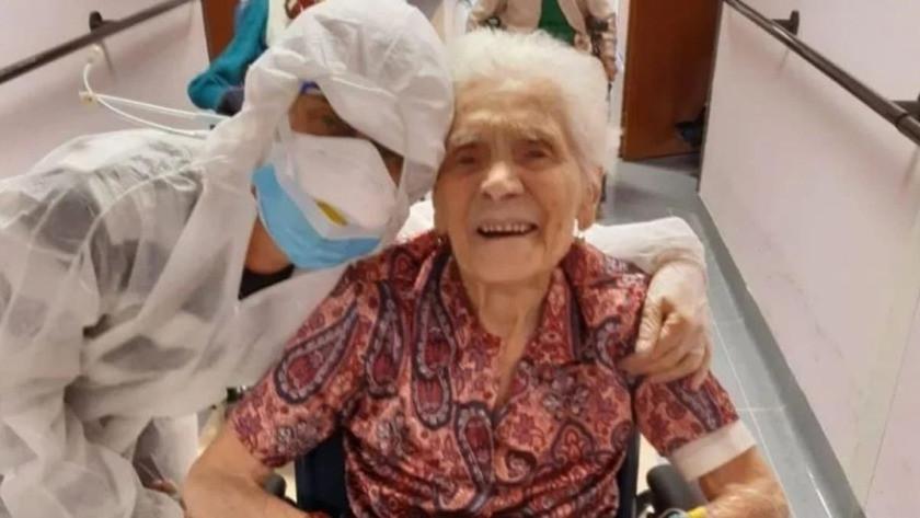 İtalya'da mucize! Korona virüsü yenen en yaşlı insan oldu